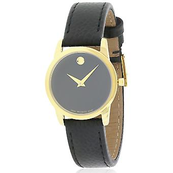 Movado Museum Classic Leather Ladies Watch 0607016