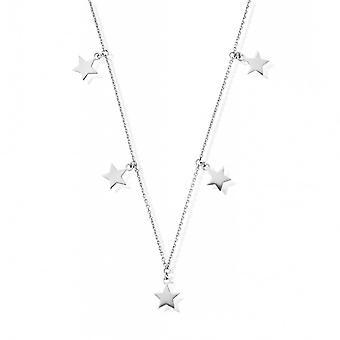 ChloBo Silber Multi Star Halskette