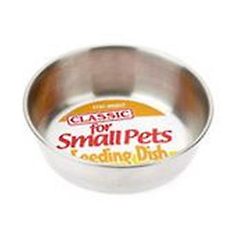Classic For Pets Small Pet S.S. Dish (Dogs , Bowls, Feeders & Water Dispensers)