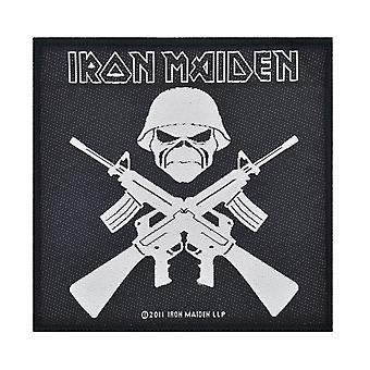 Iron Maiden A Matter Of Life And Death Woven Patch