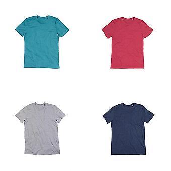 Stedman Mens Luke Melange Crew Neck T-Shirt