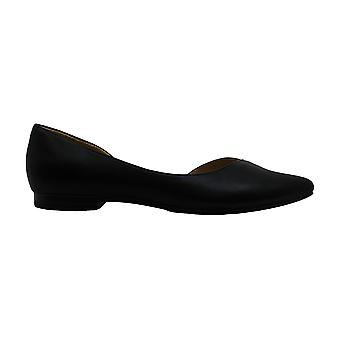 Naturalizer Womens evelyn Leather Pointed Toe Slide Flats