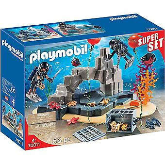 Playmobil 70011 Tactical Dive Unit 55PC Superset