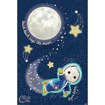 Moon And Me Hush Hush 106 Poster