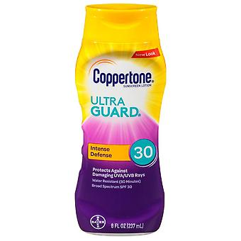 Coppertone ultra guard sunscreen lotion, spf 30, 8 oz