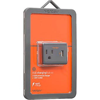 Ventev 2.4A USB Output Wall Charging Hub 200 for iPhone, Galaxy