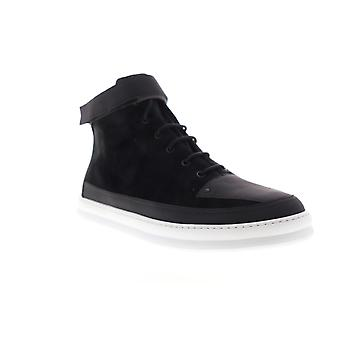 Camper Runner Four  Mens Black Suede Lace Up High Top Sneakers Shoes