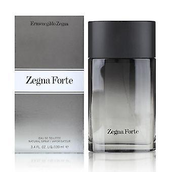 Zegna forte by ermenegildo zegna for men 3.4 oz eau de toilette spray