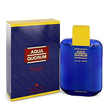 Aqua Quorum Eau De Toilette By Antonio Puig 3.4 oz Eau De Toilette