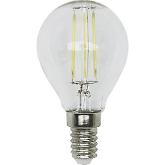 LightMe LED (monochrome) EEC A++ (A++ - E) E14 Droplet 4 W = 35 W Warm white (Ø x L) 45 mm x 80 mm Filament 1 pc(s)