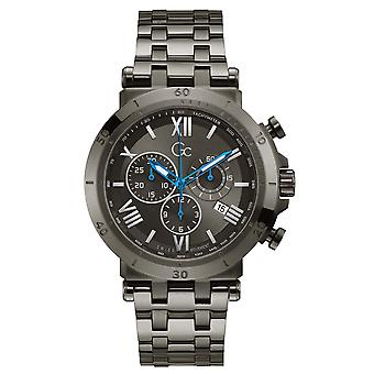 Gc Guess Collection Y44005g5mf Insider Men's Watch 44 Mm