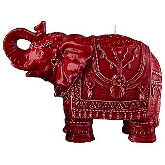 Mario Luca Giusti Elephant Candle Red