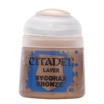 Sycorax Bronze, Citadel Paint - Layer, Warhammer 40,000/Age of Sigmar