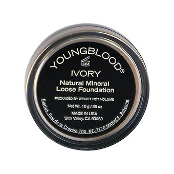 Youngblood Natural solto Mineral Foundation - marfim 10g/0,35 oz