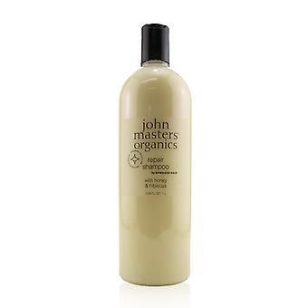 John Masters Organics Repair Shampoo For Damaged Hair with Honey & Hibiscus 1000ml/33.8oz