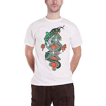 Atari T Shirt Centipede Arcade Graphic Logo new Official Mens White