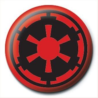 Star Wars Empire Symbol 25mm Pin tlačítko odznak