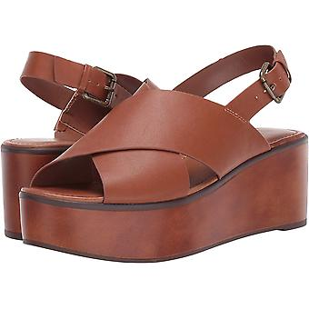 Indigo Rd. Women's Shoes Fayina 2 Leather Open Toe Casual Platform Sandals