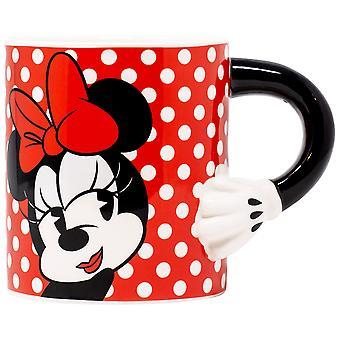 Disney Minnie Mouse 20 Ounce Sculpted Handle Mug
