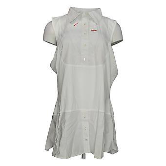 Quacker Factory Frauen's Hose regelmäßige Pull On mit Taschen rot A343011