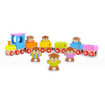 Fiesta Crafts Teddies Train
