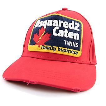 Dsquared2 Familienunternehmen Cap Rot