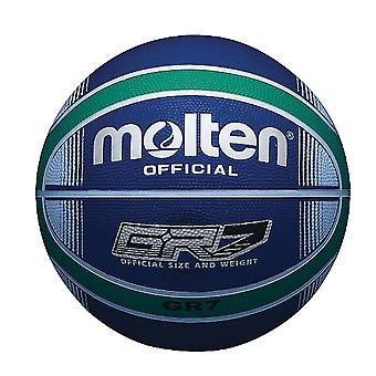Molten GR7X Indoor Outdoor Rubber Basketball Ball Bleu/Vert