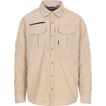 Trespass Mens Abbeydorney Long Sleeve Quick Drying Shirt