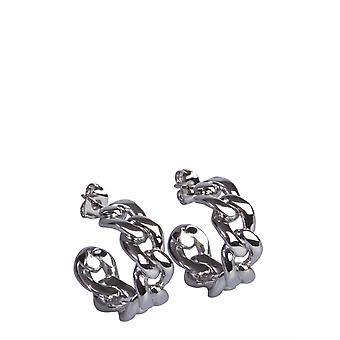 Maison Margiela S51vg0065s12671951 Women's Silver Brass Earrings