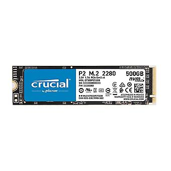 Crucial P2 500 Go Interne Nvme Pcie Ssd 2300R 940W Mb S