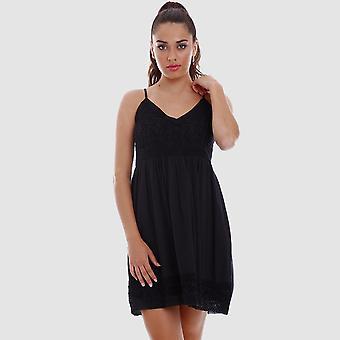 Vestido Corto Amalfi Negro