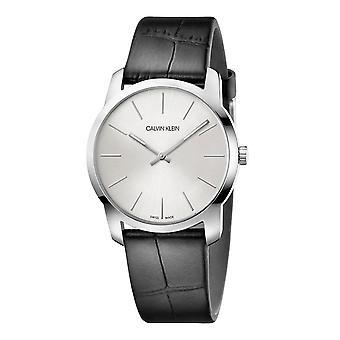 Calvin Klein K2G221C6 City Extension Quartz Silver Dial Unisex Watch
