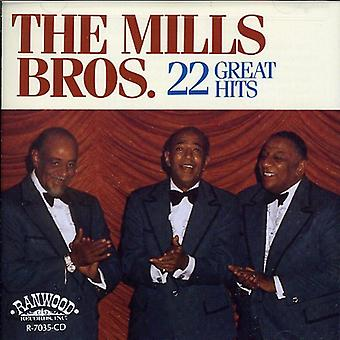 Mills Brothers - 22 Great Hits [CD] USA import