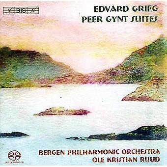 Bergen Philharmonic Orchestra - Grieg: Importación Peer Gynt Suites [SACD] Estados Unidos