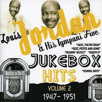 Louis Jordan & Tympany fem - Jordan, Louis & Tympany fem: Vol. 2-Jukebox Hits 1947-51 [CD] USA importerer
