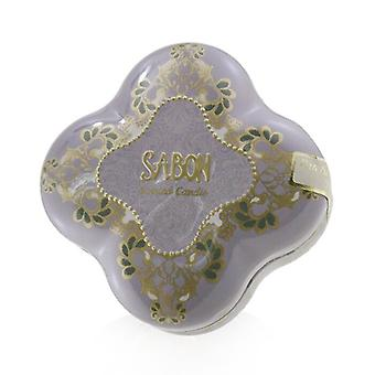Sabon Tin Scented Candle (Small) - Patchouli Lavender Vanilla 110ml/3.71oz