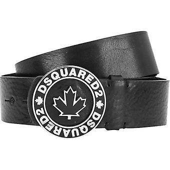 Dsquared2 Logo Leather Hip Belt