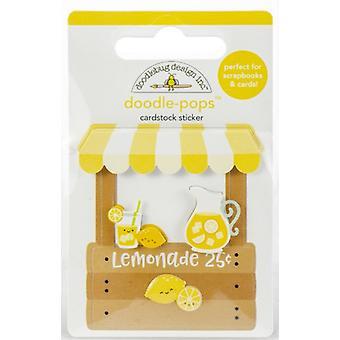 Doodlebug Design Lemonade Stand Doodle-Pops