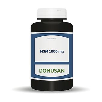 MSM 120 tablets of 1000mg