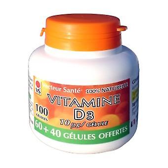 vitamine D3 10µg / gélule 60 vegetable capsules