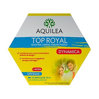 Aquilea Top Royal Dynamica 20 ampoules of 15ml