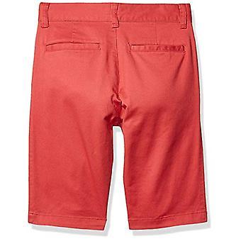 Essentials Boysă Pantaloni scurți țesuti, roșu, 16(H)