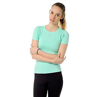 Jerf Womens Rodia Mint Sem Emenda Performance Tee Shirt