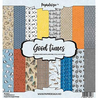 Papirdesign Good Times 12x12 Inch Paper Pack