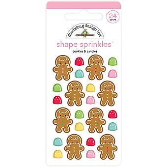 &עוגיות עיצוב דודלבאג סוכריות צורה סוכריות (24pcs) (6443)