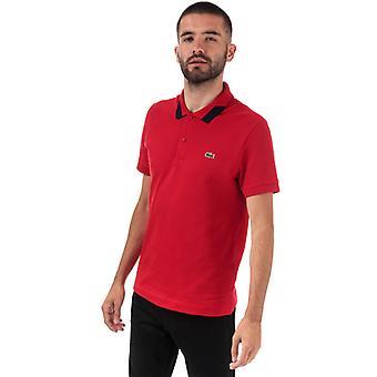 Polo Pima Piqué en rouge