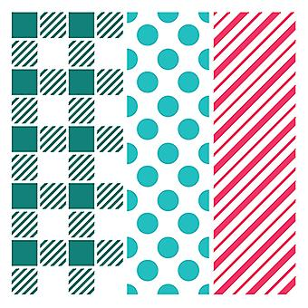 LDRS Creative Playful Patterns 6x6 Inch Stencil