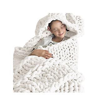 سوبر لينة ورقيق بطانية، سميكة موضوع محبوك أريكة سميكة غطاء السرير بطانية، bedspread