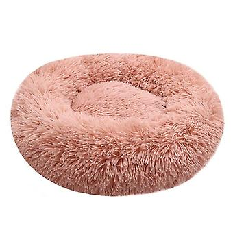 Warm Round Pet Lounger Cushion For Small Medium Large Dogs & Cat