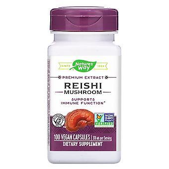 Nature-apos;s Way, Reishi Mushroom, 376 mg, 100 Capsules végétaliennes